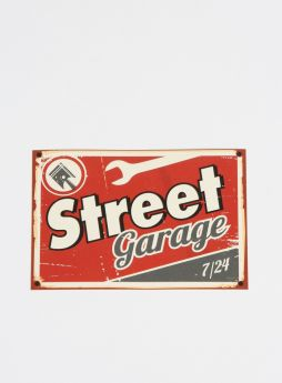 Street Garage Sticker