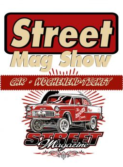 Street Mag Show Car-Ticket